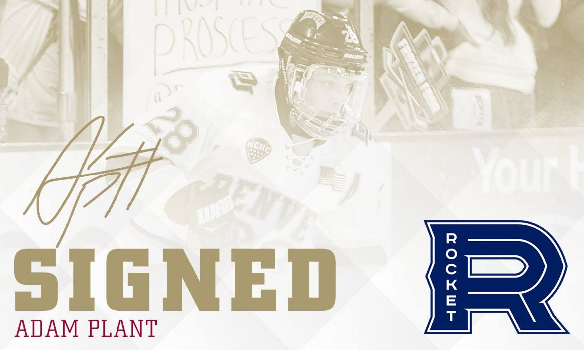 Adam Plant signs with AHL team, Laval Rocket! | Herolab